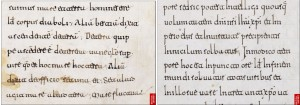 © British Library, Add. ms. 11695. f. 155r vs. f. 200v